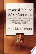 libro El Manual Bíblico Macarthur