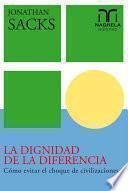 libro La Dignidad De La Diferencia