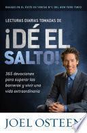 libro Lecturas Diarias Tomadas De ¡dé El Salto!