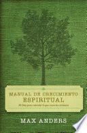 Manual De Crecimiento Espiritual