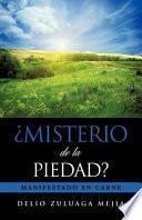 libro Misterio De La Piedad?