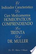 El Indicador Caracteristico De Cien Medicamentos Homeopaticos