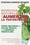 libro Remedios Naturales Para Aumentar La Testosterona