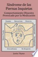 libro Síndrome De Las Piernas Inquietas