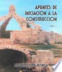 libro Apuntes De Iniciación A La Construcción Ii
