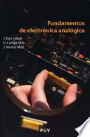 libro Fundamentos De Electrónica Analógica