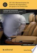 libro Mantenimiento De Sistemas De Seguridad Y De Apoyo A La Conducción. Tmvg0209