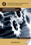 libro Montaje Y Reparación De Los Sistemas Mecánicos. Fmee0208