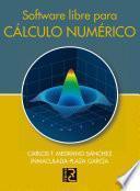 libro Software Libre Para Cálculo Numérico